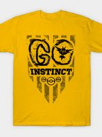 Go Yellow Black Ink T-Shirt