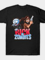 Rick vs Zombies T-Shirt