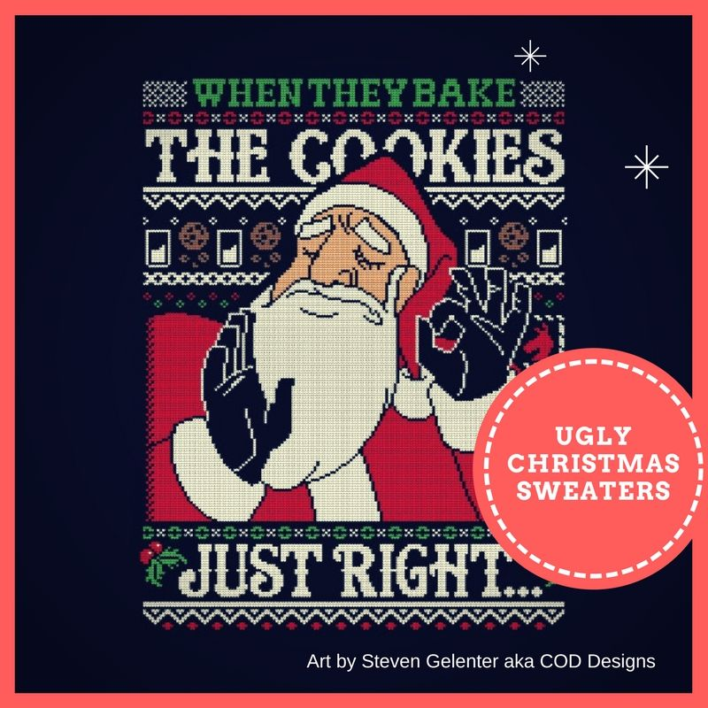 List of the Best Ugly Christmas Sweater T-Shirts - The Shirt List