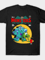 Monsters Comic T-Shirt