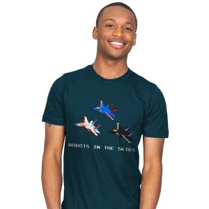 Robots in the Skies T-Shirt