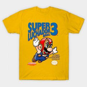 SUPER LUCHADOR BROS T-Shirt