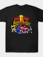 Purrr Rangers Cat T-Shirt