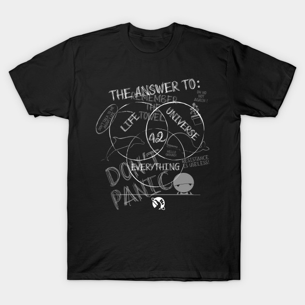 Hitchhiker's Guide to the Galaxy T-Shirt