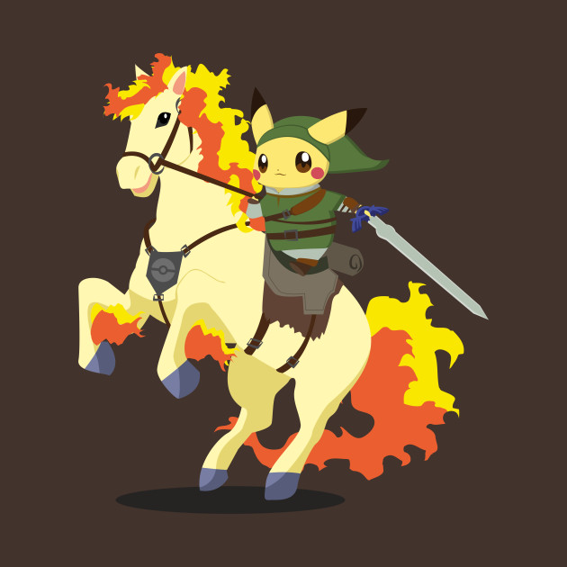 Pikachu on Horse