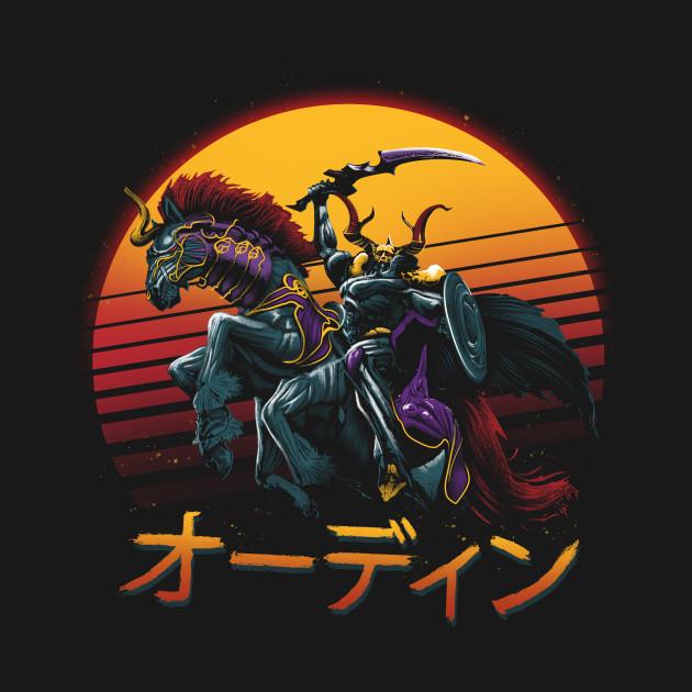 Rad Odin Final Fantasy T Shirt By Vp021 The Shirt List
