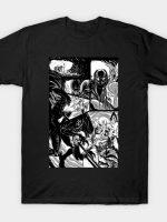 Alien vs Predator Sequential Page T-Shirt