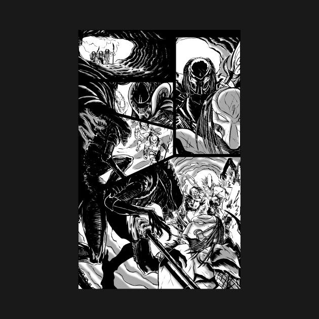 Alien vs Predator Sequential Page
