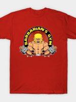 Barbarian's Gym T-Shirt