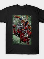 Deadpool versus Deathstroke T-Shirt