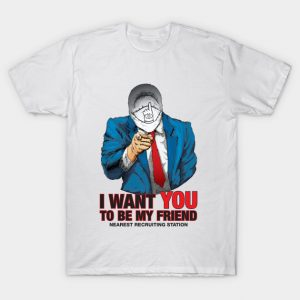I WANT YOU TO BE MY FRIEND