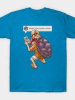Muten Roshi Discovers Instagram T-Shirt