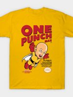 One Punch Man Game Cover T-Shirt