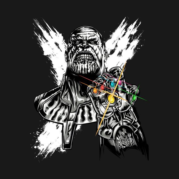 thanos infinity gauntlet avengers infinity war t shirt the shirt list