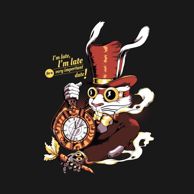The Steampunk White Rabbit