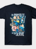 To protect and to serve T-Shirt