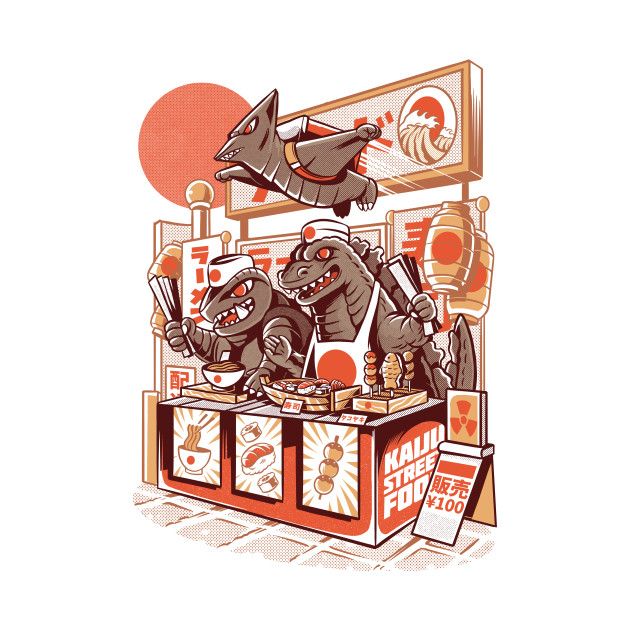 Kaiju street food