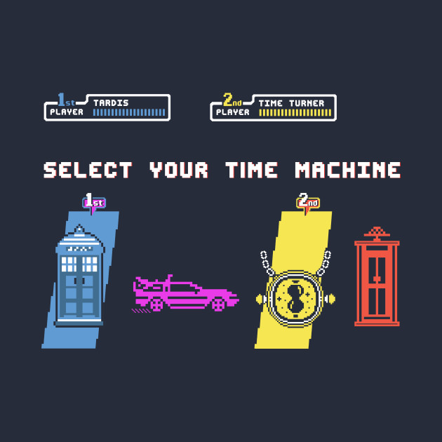 Select Your Time Machine