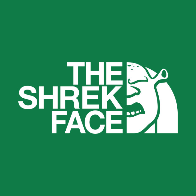 The Shrek Face (White)