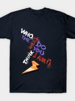 Who the hell T-Shirt