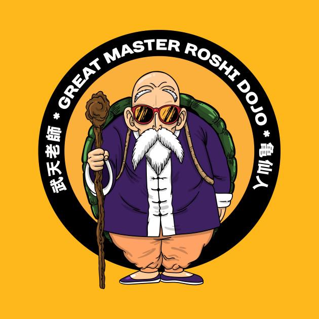Great master roshi - dragon ball Z