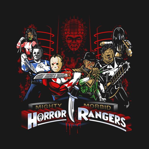Mighty Morbid Horror Rangers