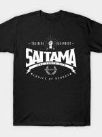Saitama Choice of Heroes - White T-Shirt