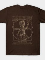 Vitruvian tree T-Shirt