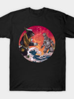 Duel in the Great Wave T-Shirt