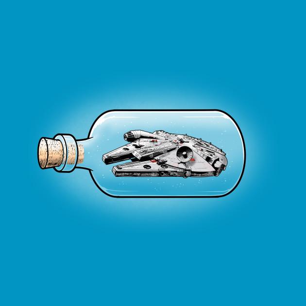 Falcon bottle
