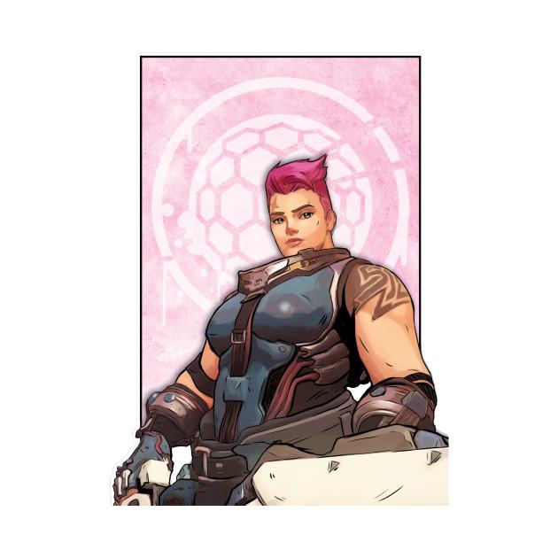 Overwatch - Zarya