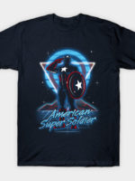 Retro American Super Soldier T-Shirt