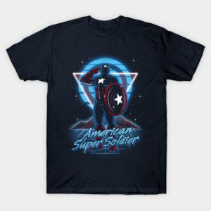 Retro American Super Soldier