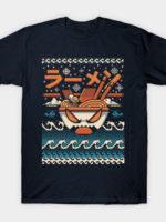The Great Ramen off kanagawa Christmas T-Shirt