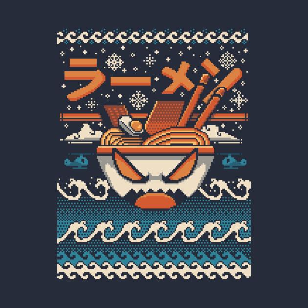 The Great Ramen off kanagawa Christmas