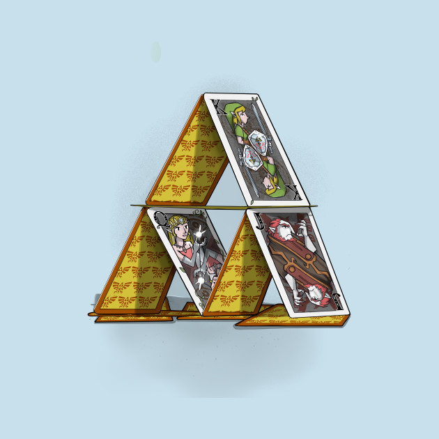 Triforce of cards
