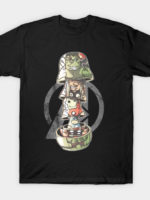 stacked heroes T-Shirt