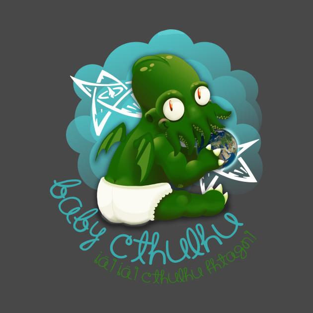 A cute baby cthulhu