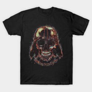 Burning Dark Skull