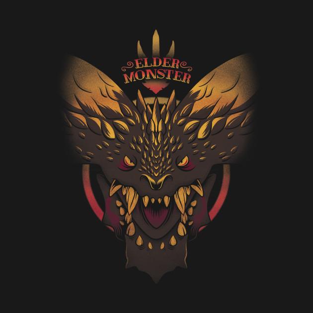 Elder Monster Black