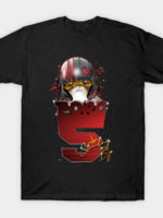 Porg 5 Standing By T-Shirt