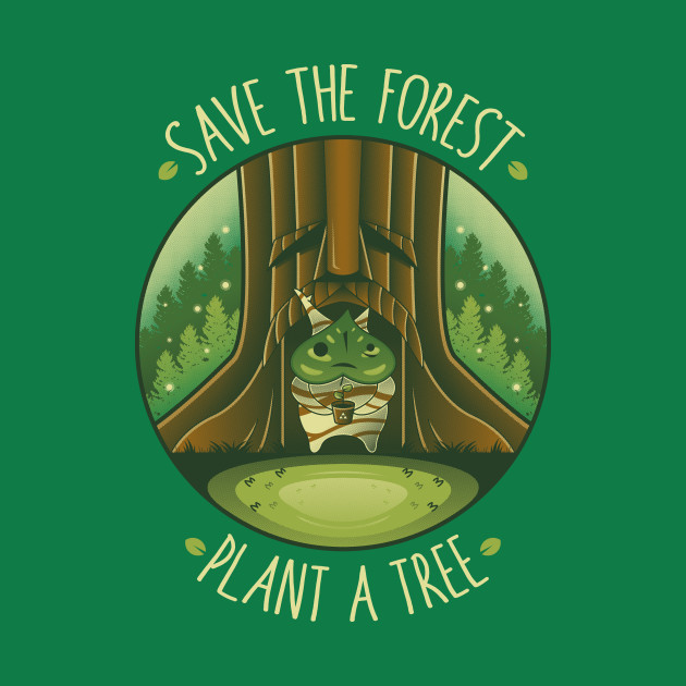 Save the Forest - Plant a Tree