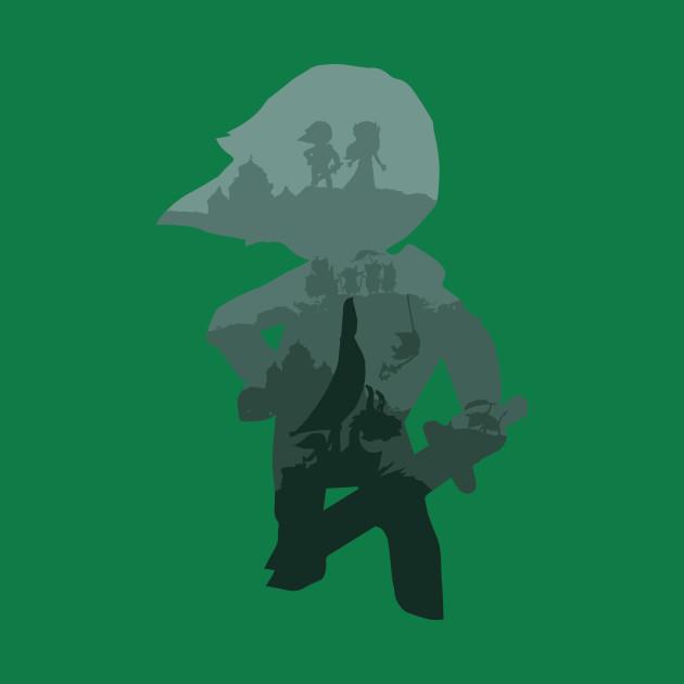 The Legend of Zelda Wind Waker Green