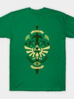 Zelda Crest Green T-Shirt