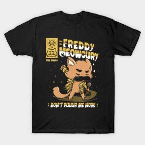 Freddy Meowcury T-Shirt