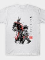 Hero Academia sumi-e T-Shirt