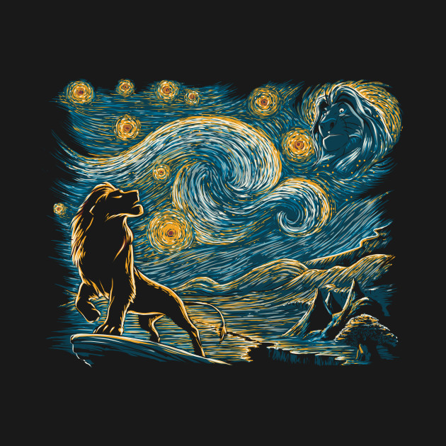 Starry Lion King