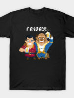 Beast and Gaston T-Shirt
