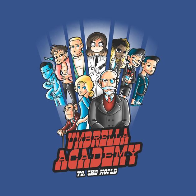 Umbrella academy vs the world