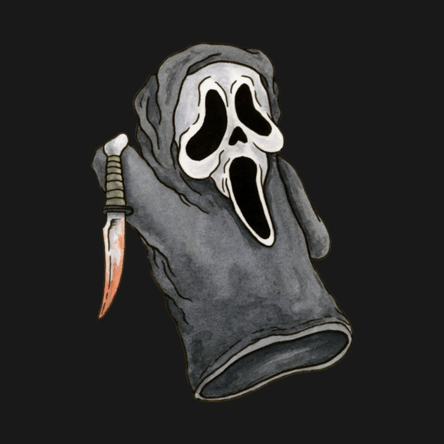 Ghostface, Scream - Horror Hand Puppet